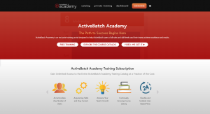 Develop new skills and accelerate ROI with ActiveBatch Academy.