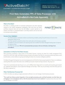 No-code and low-code automation enable IT to quickly develop reliable cross-platform processes