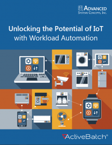 Workload automation makes it possible to automate, monitor, and orchestrate cross-platform and IoT processes from a single location.