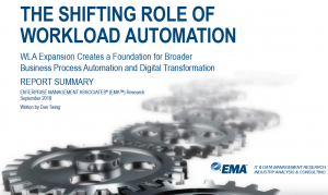The role of workload automation is changing as IT aligns its goals with business goals.