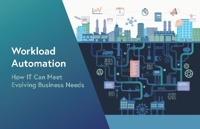 Workload automation enables IT to quickly integrate new technologies and to monitor and assemble end-to-end processes.