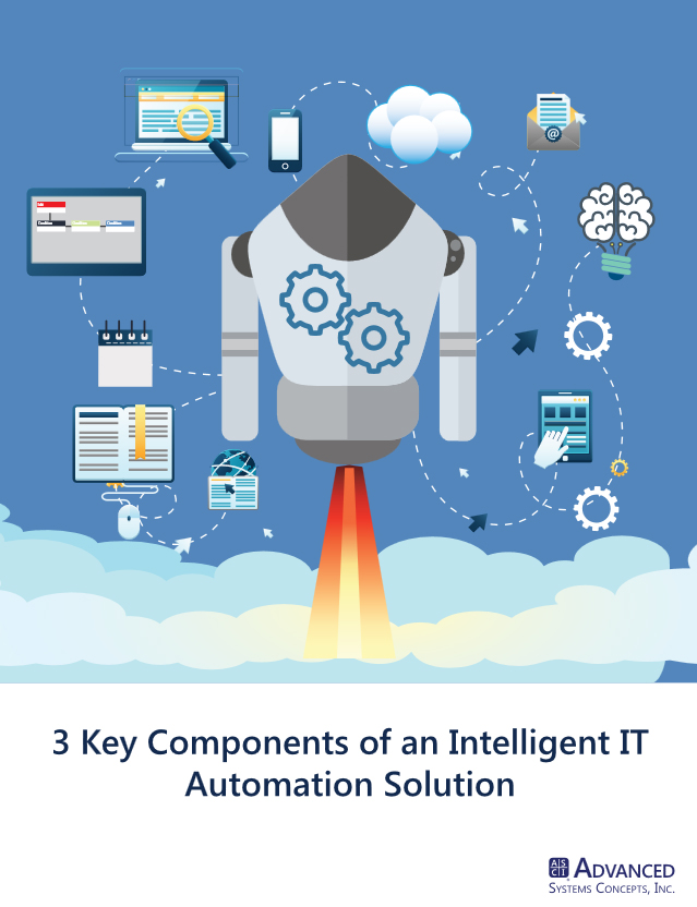 Image -  White Paper: 3 Key Components of an Intelligent IT Automation Solution