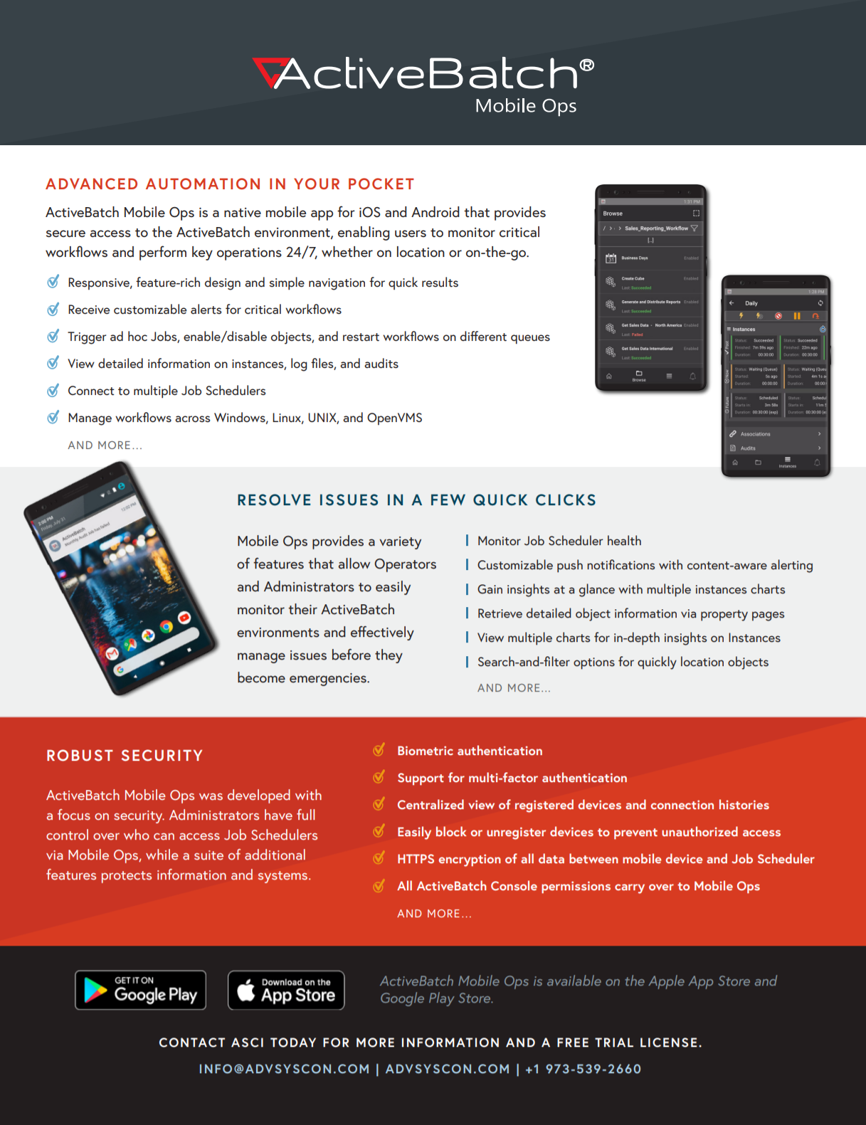 ActiveBatch Mobile Ops - IT Automation On-the-Go