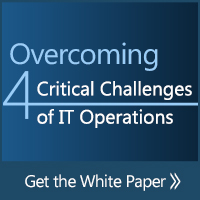 Overcoming 4 Critical Challenges of IT Operations