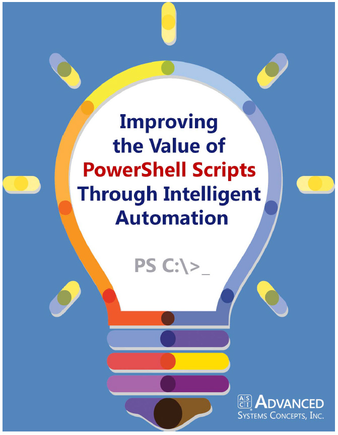 Image -  Improving the Value of PowerShell Scripts Through Intelligent Automation
