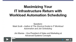 Image -  Maximizing Your IT Infrastructure Return with Workload Automation Scheduling