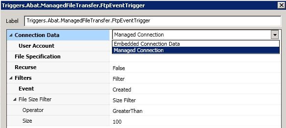 ActiveBatch FTP File Trigger allows users to trigger a Job or Plan based on creation or modification of a file on FTP server