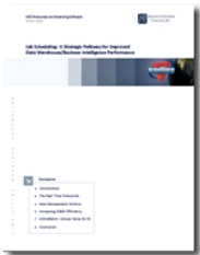Image -  White Paper: Job Scheduling: A Strategic Pathway for Improved Data Warehouse / Business Intelligence Performance