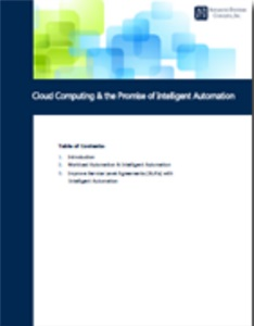 Image -  White Paper: Cloud Computing and the Promise of Intelligent Automation