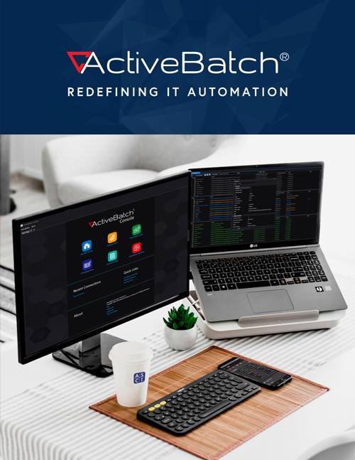 Image -  ActiveBatch Workload Automation Overview