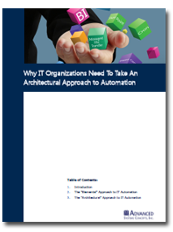 Image -  White Paper: Why IT Organizations Need to Take an Architectural Approach to IT Automation
