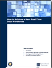 Image -  White Paper: How To Make Use of Job Scheduling Software To Achieve a Near Real-Time Data Warehouse