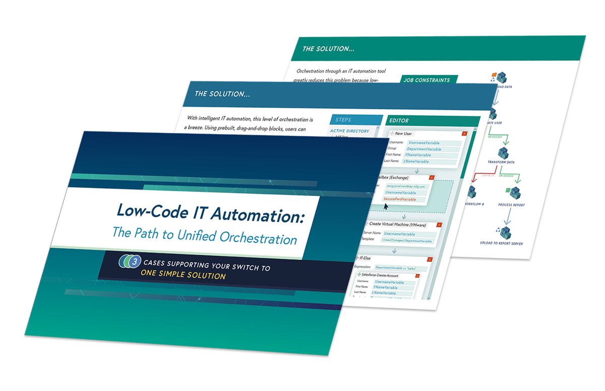 Image -  Low-Code IT Automation: The Path to Unified Orchestration
