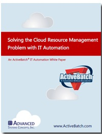 Image -  Solving the Cloud Resource Management Problem with IT Automation