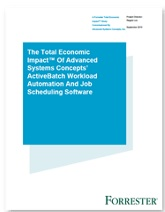 Image -  The Total Economic Impact™ Of Advanced Systems Concepts' ActiveBatch Workload Automation And Job Scheduling Software