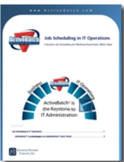 Image -  White Paper: Job Scheduling in IT Operations