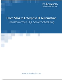 Image -  Transform Your SQL Server Scheduling - From Silos to Enterprise IT Automation