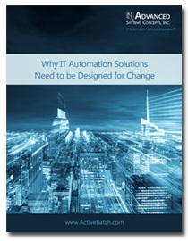 Image -  Why IT Automation Solutions Need to be Designed for Change
