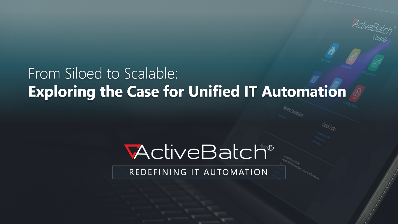 Image -  From Siloed to Scalable: Exploring the Case for Unified IT Automation