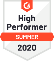 G2 High Performer Summer Badge
