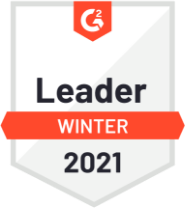 G2 Leader Winter 2021 Badge