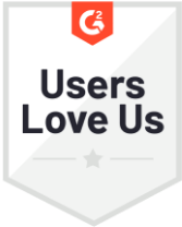 G2 Users Love Us Badge