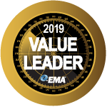 ActiveBatch EMA Value Leader Badge