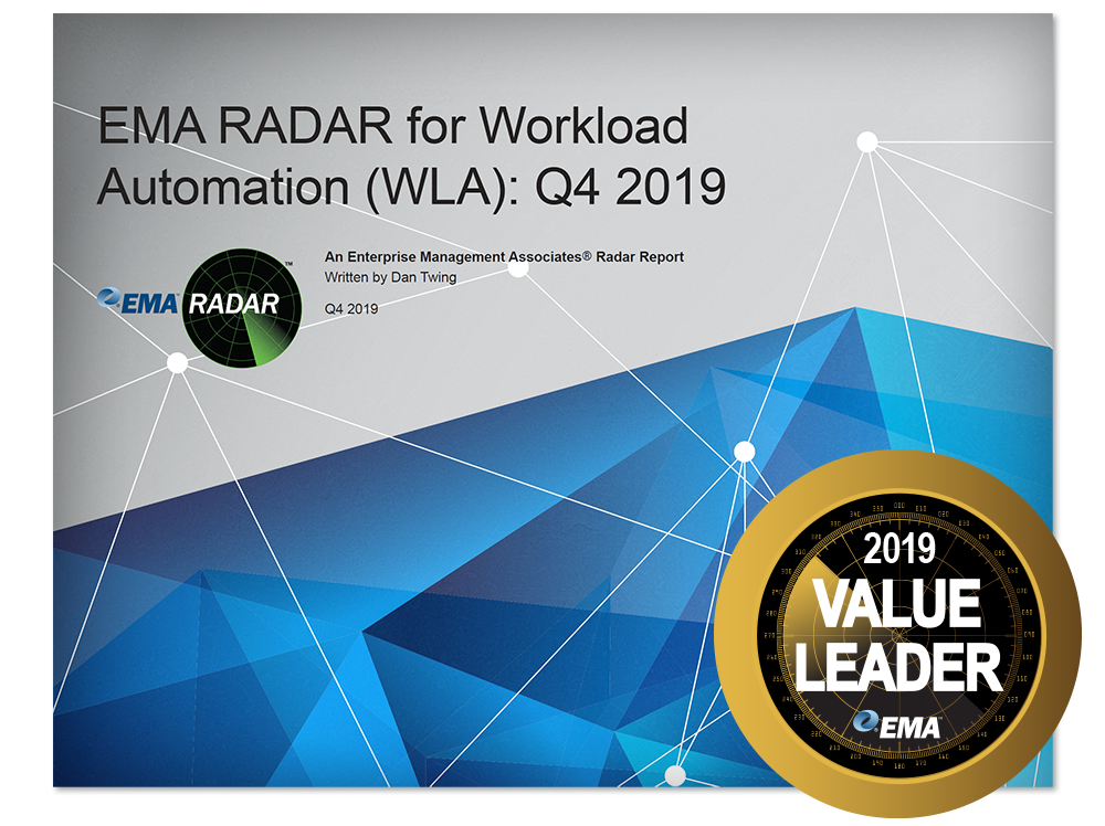 EMA Radar Report for Workload Automation 2019