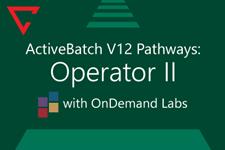 ActiveBatch Pathways: Operator II
