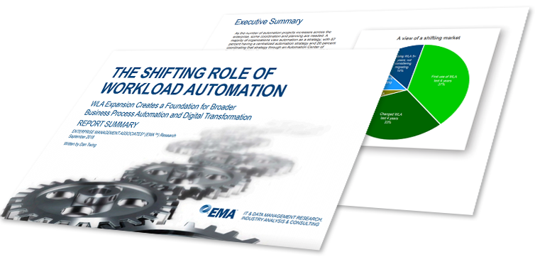 Image -  EMA Research Report Summary: The Shifting Role of Workload Automation